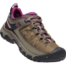 Keen Targhee III WP Sko Damer, white/boysenberry